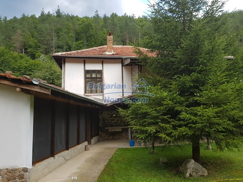12861:5 - House for sale next to river in forest  50km to Veliko Tarnovo