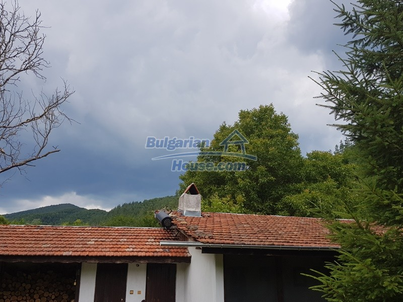 12861:12 - House for sale next to river in forest  50km to Veliko Tarnovo
