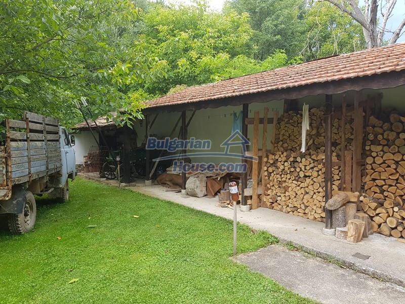 12861:11 - House for sale next to river in forest  50km to Veliko Tarnovo
