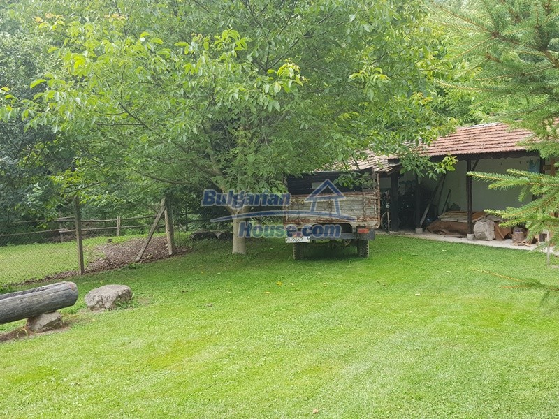 12861:14 - House for sale next to river in forest  50km to Veliko Tarnovo