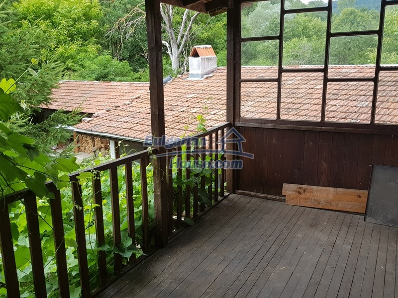 12861:17 - House for sale next to river in forest  50km to Veliko Tarnovo