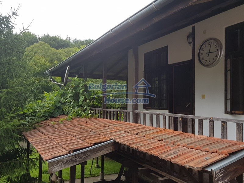 12861:27 - House for sale next to river in forest  50km to Veliko Tarnovo