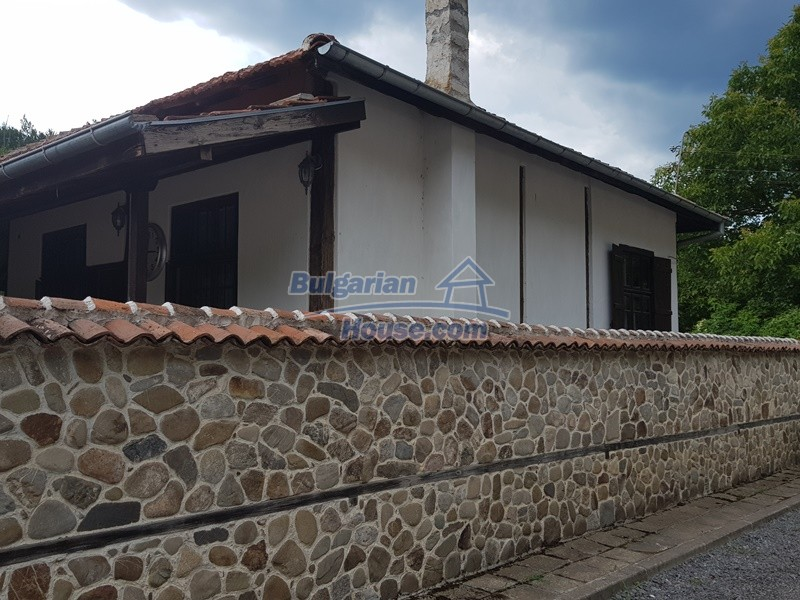 12861:22 - House for sale next to river in forest  50km to Veliko Tarnovo