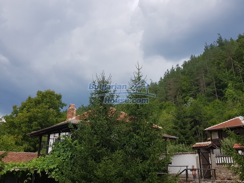 12861:30 - House for sale next to river in forest  50km to Veliko Tarnovo