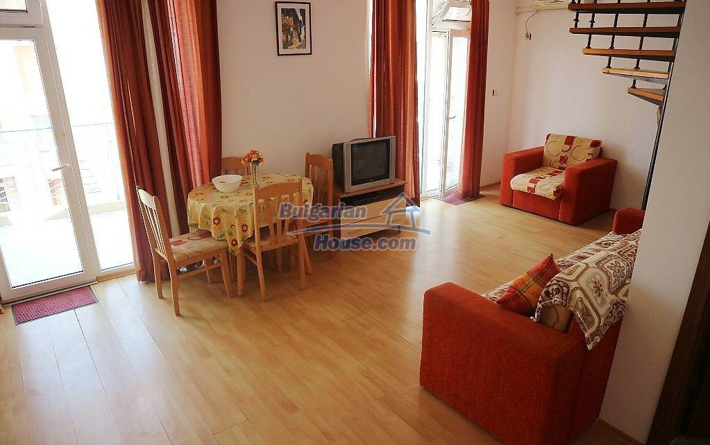 12863:3 - 3-bed apartment, maisonette Sunny Beach, 800m  to the beach