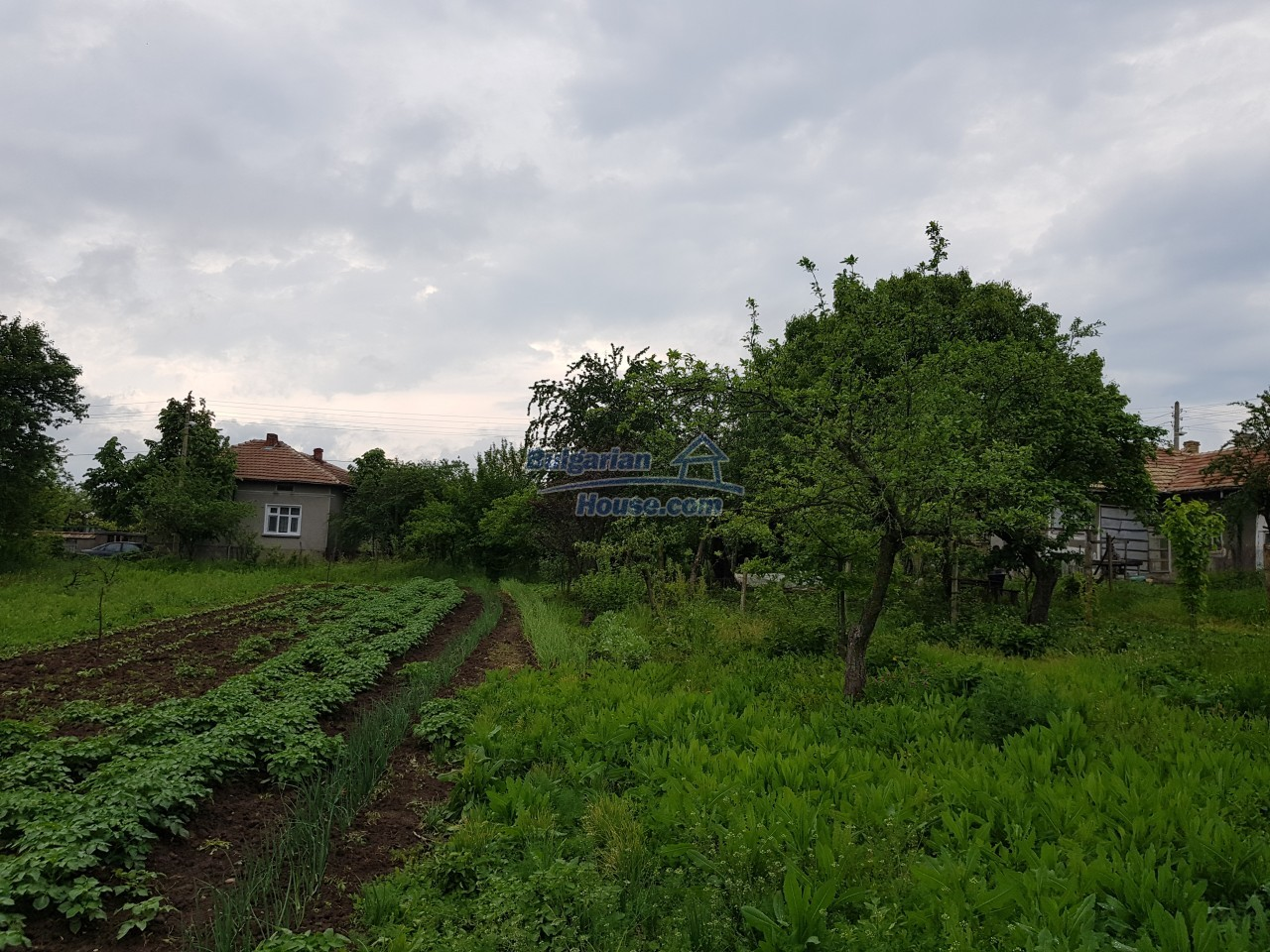 12884:32 - House for sale with big farm building and garden 7000 sq.m land