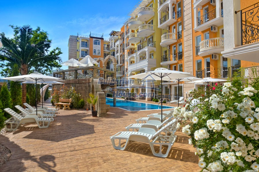 12957:1 - Luxurious ONE bedroom apartment in SWEET HOMES 2 Sunny Beach