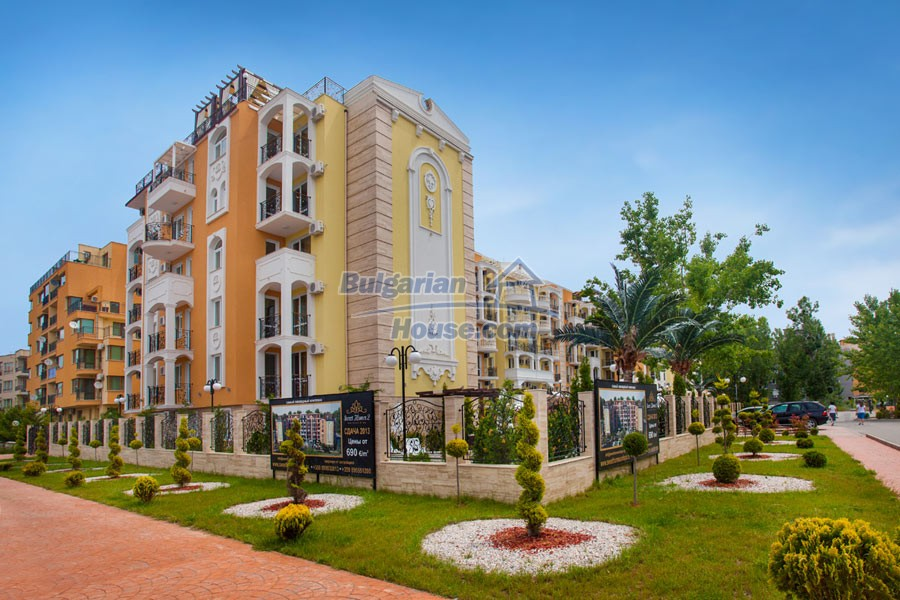 12957:12 - Luxurious ONE bedroom apartment in SWEET HOMES 2 Sunny Beach