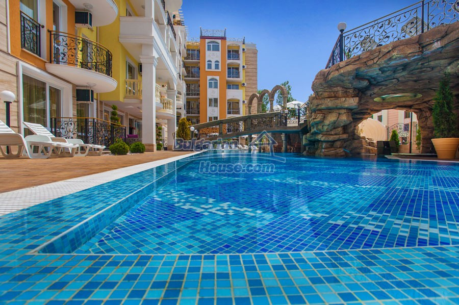12957:17 - Luxurious ONE bedroom apartment in SWEET HOMES 2 Sunny Beach