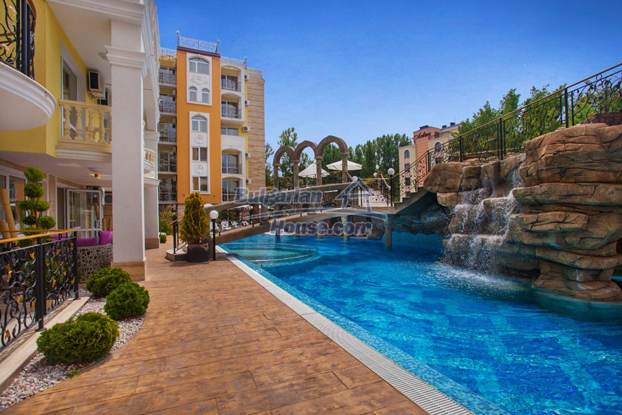 12957:22 - Luxurious ONE bedroom apartment in SWEET HOMES 2 Sunny Beach