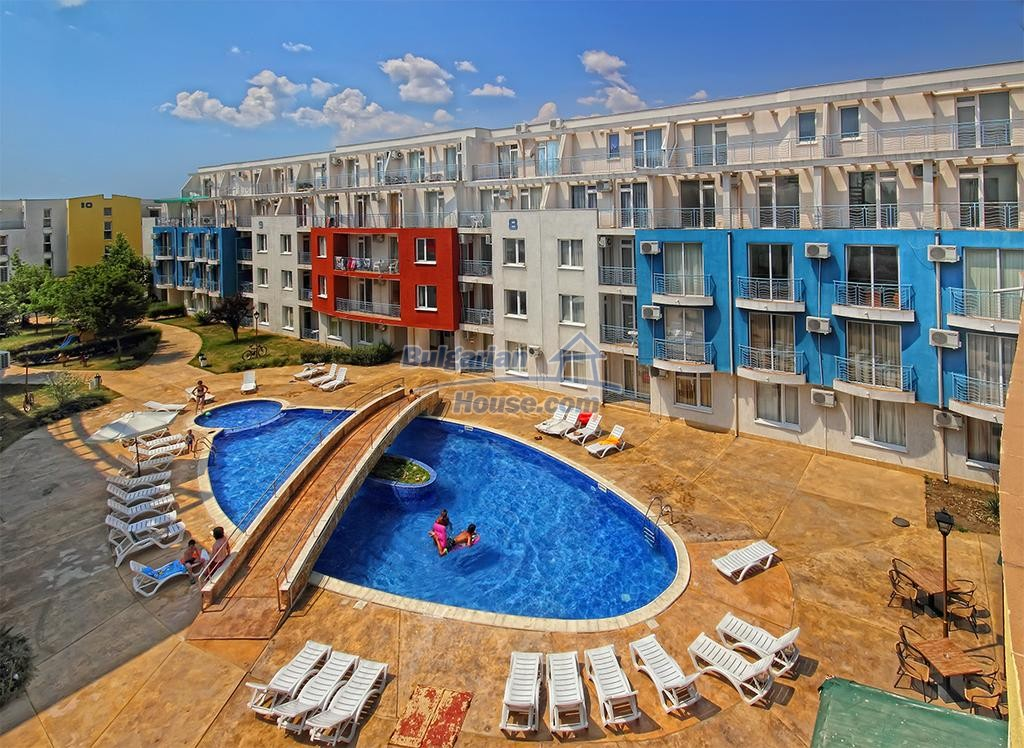 12974:13 - Spacious 2 BED apartment in SUNNY BEACH 800 m from the beach