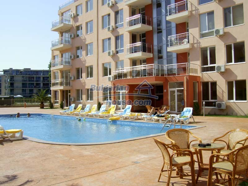 12976:1 - 1 BED apartment with pool view 5 minutes from the beach
