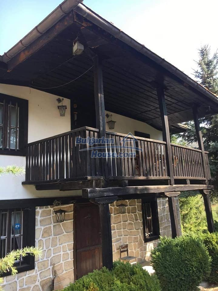 12990:3 - Traditional Bulgarian property with panoramic river and forests