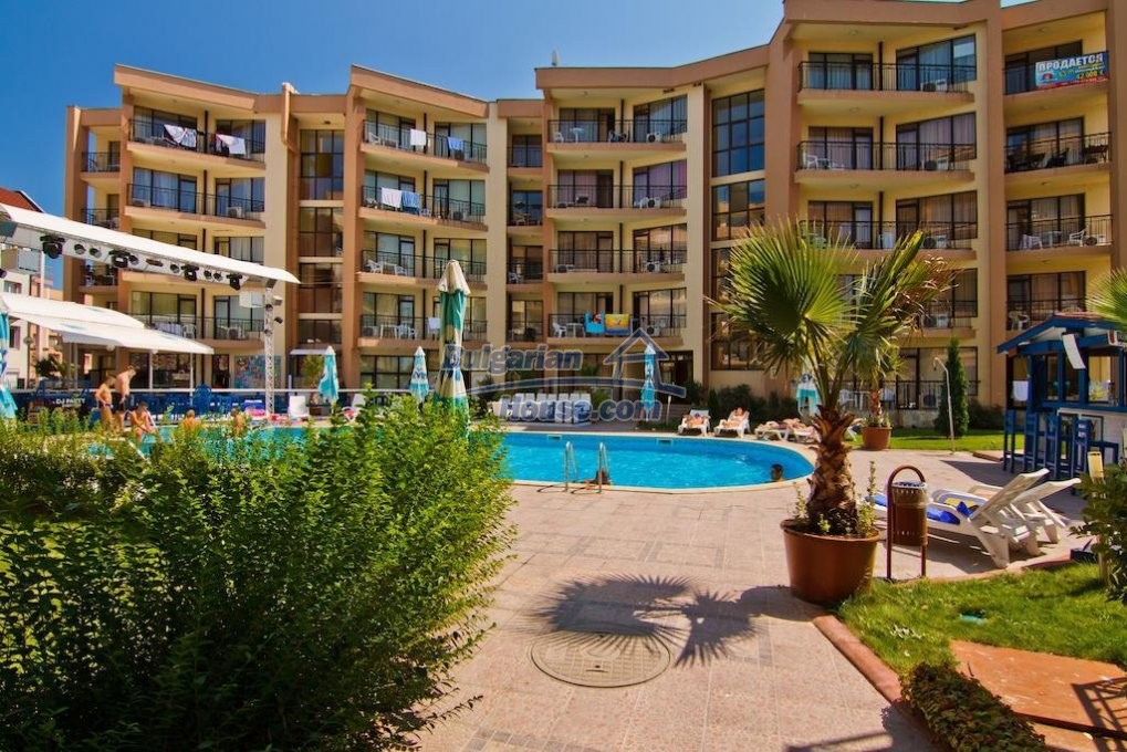 13082:10 - One-bedroom apartment in Sea Grace apart hotel Sunny beach