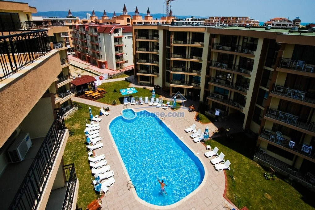 13082:9 - One-bedroom apartment in Sea Grace apart hotel Sunny beach