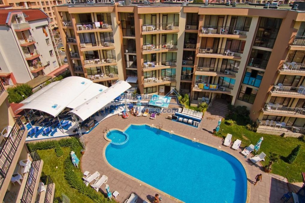 13082:13 - One-bedroom apartment in Sea Grace apart hotel Sunny beach