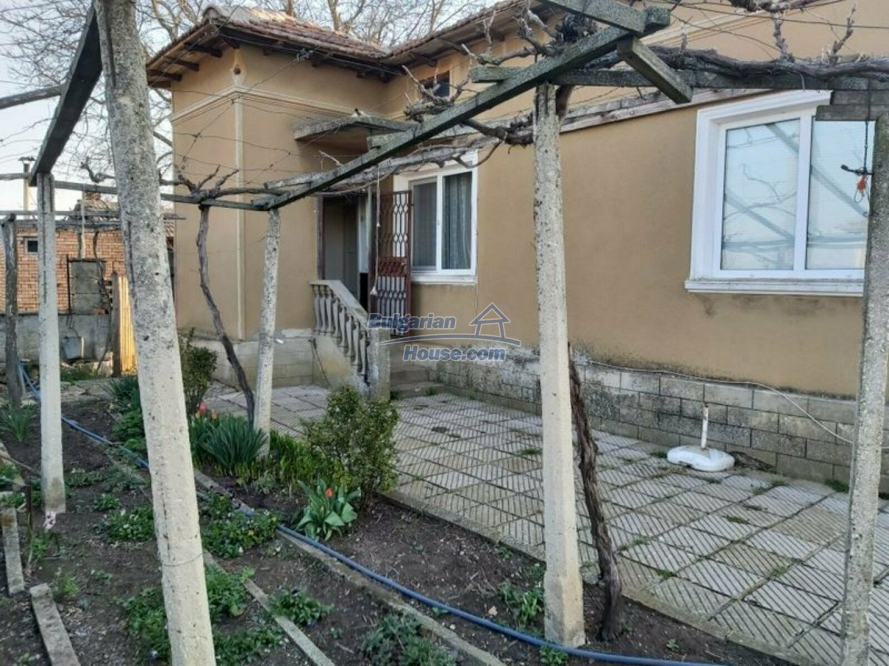 13154:5 -  Bulgarian house 24 km from the sea with 3500sq.m garden Kavarna