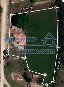 13154:29 -  Bulgarian house 24 km from the sea with 3500sq.m garden Kavarna