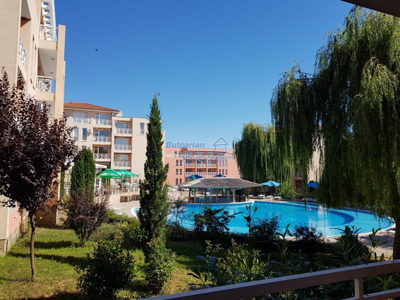12895:1 - Bright 1 BED apartment near Sunny Beach 3 km from the SEA