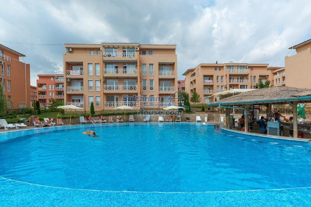 12895:10 - Bright 1 BED apartment near Sunny Beach 3 km from the SEA