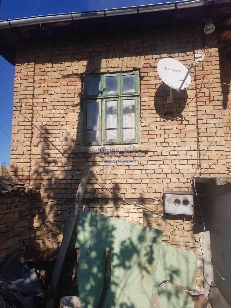 13312:4 - Brick built rural Bulgarian house near lake  big garden  Popovo